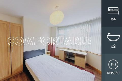 4 bedroom terraced house to rent - Howard Road, Leicester