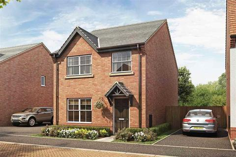 Taylor Wimpey - Kingsbourne - The Eynsham - Plot 151 at Willowbrook Grange, Jack Mills Way, Shavington CW2