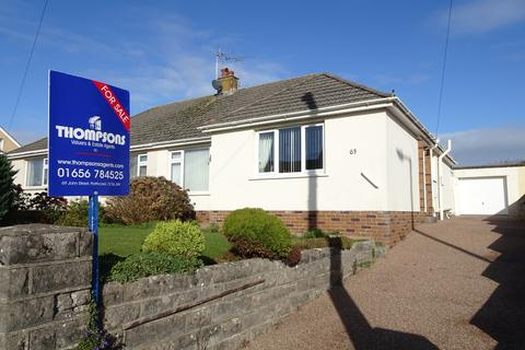 2 bedroom semi-detached bungalow for sale - WEST ROAD, NOTTAGE, PORTHCAWL, CF36 3SF