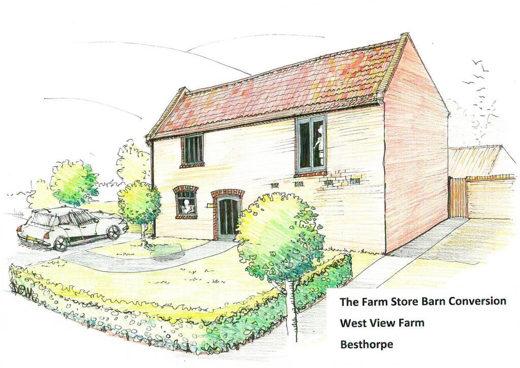 The farm store barn conversion   artists impressio