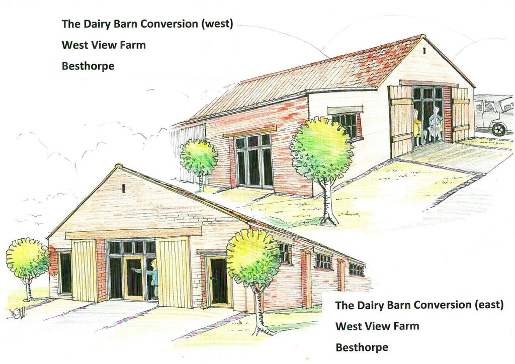 The diary bar conversion   artists impression