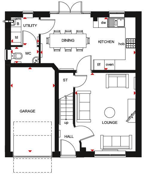 Floorplan 1 of 2: Windermere GF Plan