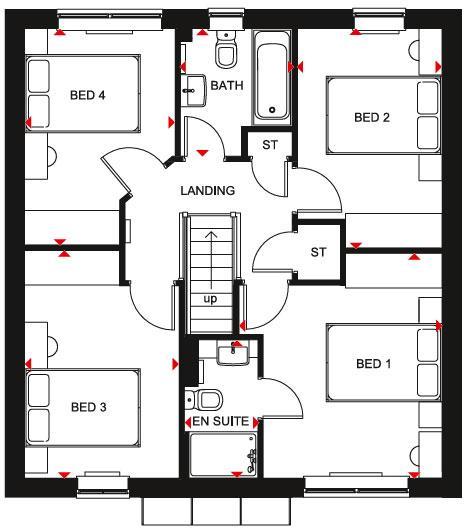 Floorplan 2 of 2: Windermere SF Plan