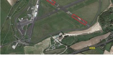 Land to rent - Hardstanding at Thruxton Airfield, Thruxton, Andover, Hampshire, SP11