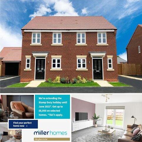 2 bedroom semi-detached house for sale - Plot 118, Beckford at Spinners Croft, Platt Lane, Keyworth NG12