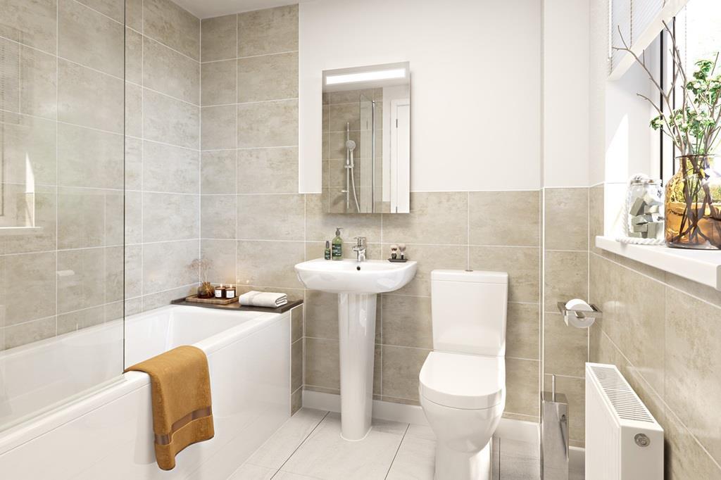 Eskdale Bathroom CGI