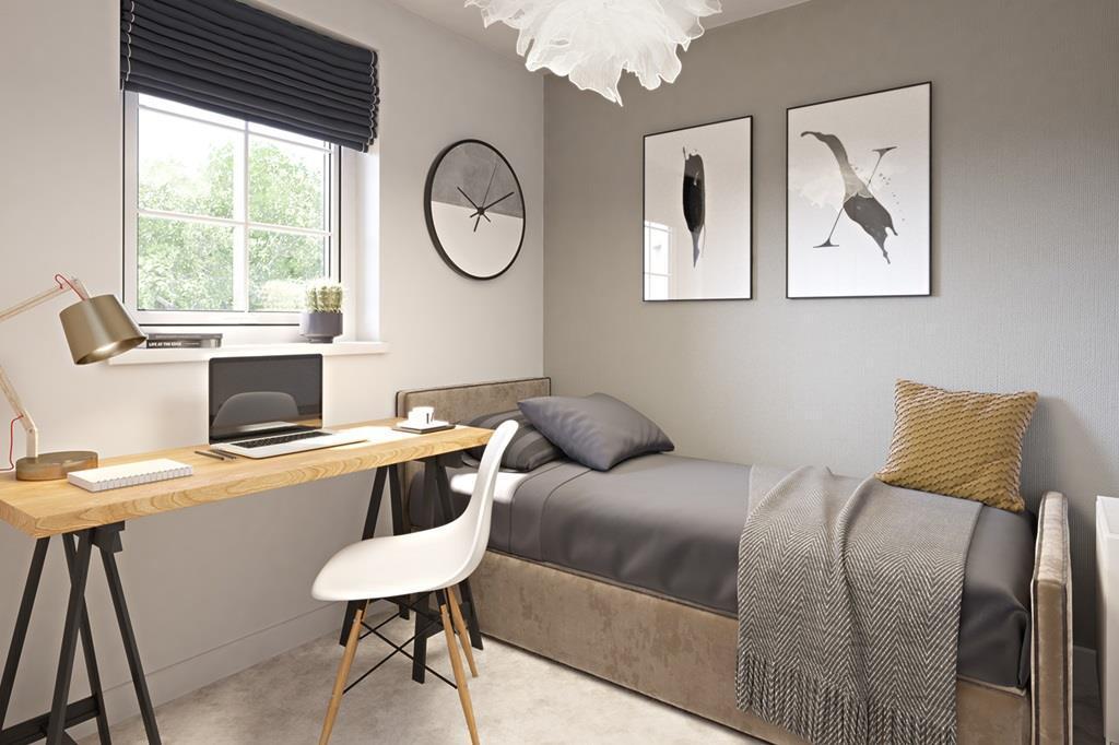 Eskdale bedroom 3 CGI