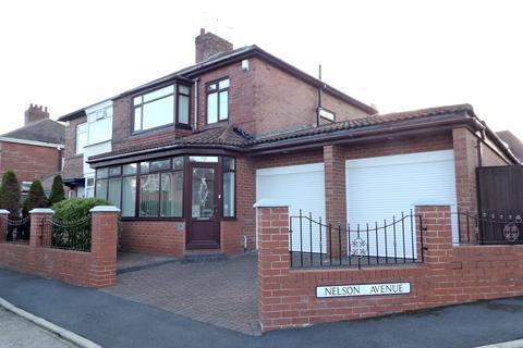 3 bedroom semi-detached house for sale - Nelson Avenue, Bents Park, South Shields, Tyne and Wear, NE33 2NJ