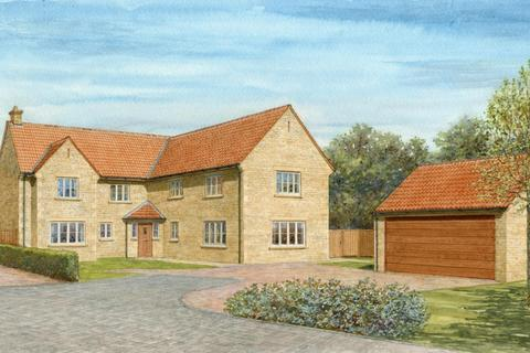 5 bedroom detached house for sale - Plot 5 - Oak House, The Wood Yard, Stamford Road, Colsterworth