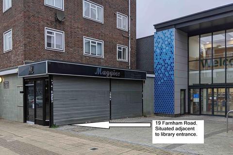 Shop to rent - Hilldene Shopping Centre, 19 Farnham Road, Harold Hill, Romford, Essex