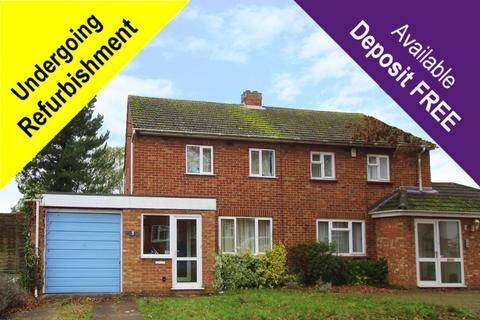 2 bedroom semi-detached house to rent - St Andrews Road, Bletchley