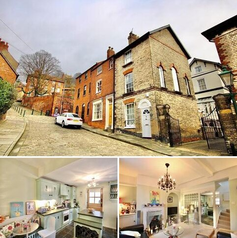 3 bedroom end of terrace house for sale - Steep Hill, Lincoln