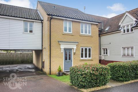 3 bedroom link detached house for sale - Dolphin Road, Costessey, Norwich