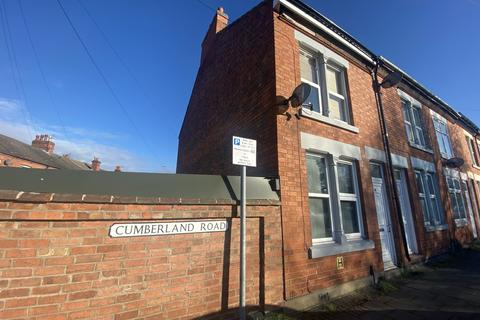 3 bedroom terraced house to rent - Cumberland Road, Loughborough,