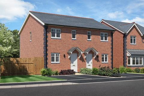 2 bedroom semi-detached house for sale - Plot 9, Chelwood View, Crew Green, Powys, SY5