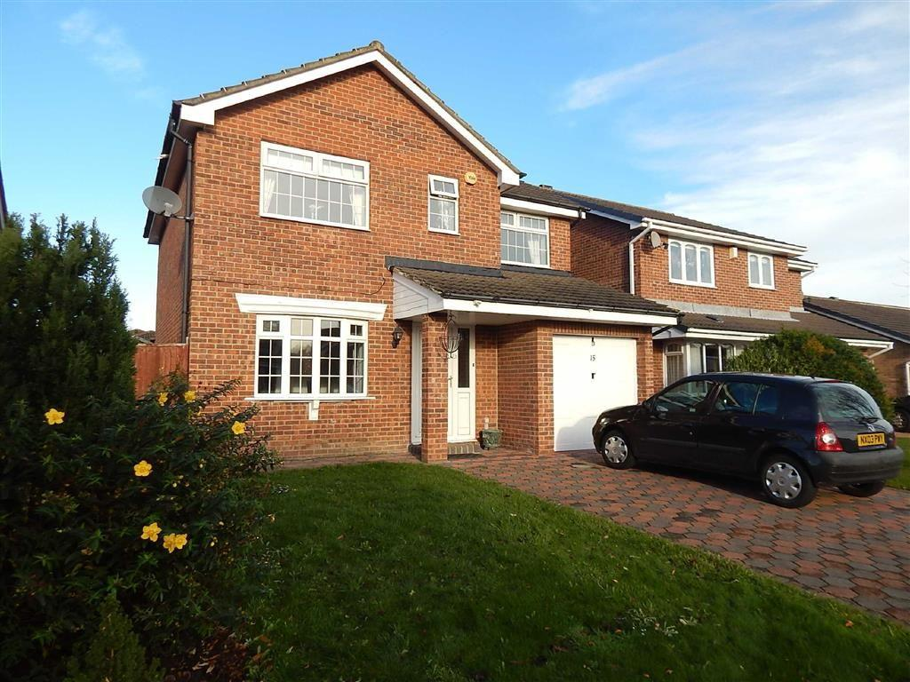 3 Bedrooms Detached House for sale in Home Park, Parklands, Wallsend, NE28