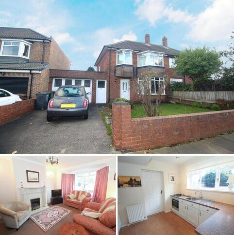 3 bedroom house for sale - Monkstone Crescent, North Shields