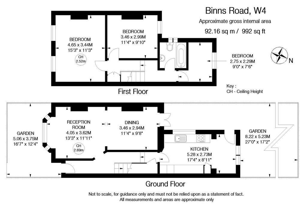 Floorplan: Binns Road, W4   FLOOR PLAN