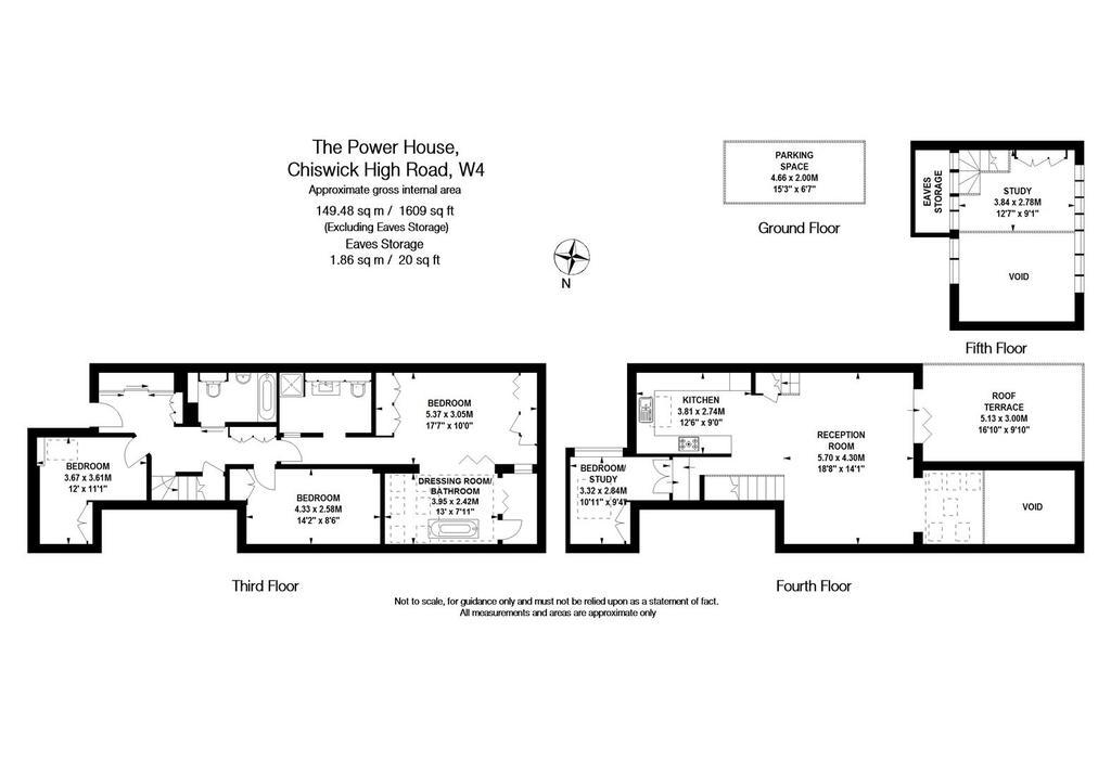 Floorplan: The Power House, W4   FLOOR PLAN