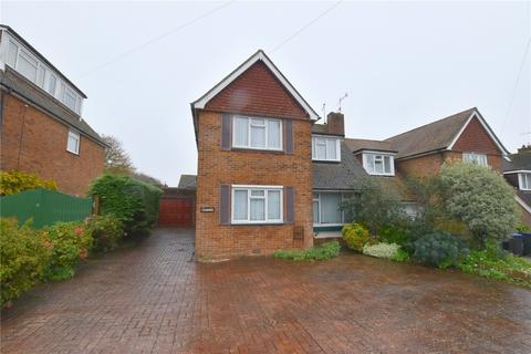 3 bedroom semi-detached house for sale - Ravensbourne Avenue, Shoreham-by-Sea, West Sussex, BN43