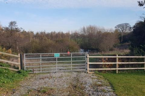 Land for sale - Land and Fishing Pool at East side, Church Lawton, Alsager