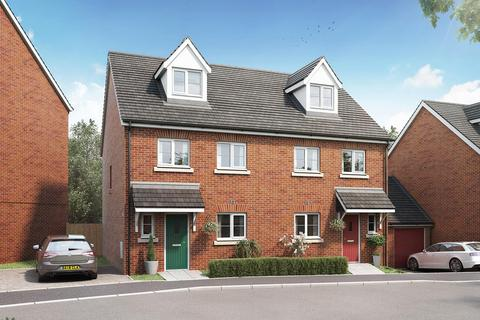 4 bedroom terraced house - Plot 192, The Aslin at Tithe Barn, Tithebarn Link Road, Exeter, Devon EX1