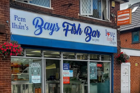 Takeaway for sale - Freehold Fish & Chip Takeaway Located In Great Barr