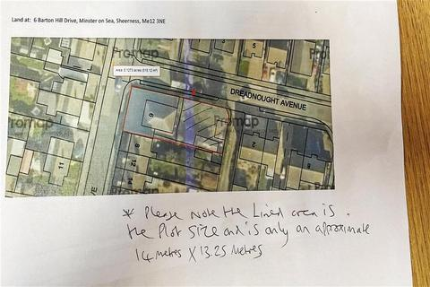 Land for sale - Barton Hill Drive, Minster On Sea, Sheerness, Kent