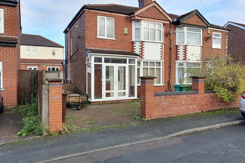 3 bedroom semi-detached house to rent - Gatling Avenue, Manchester, M12