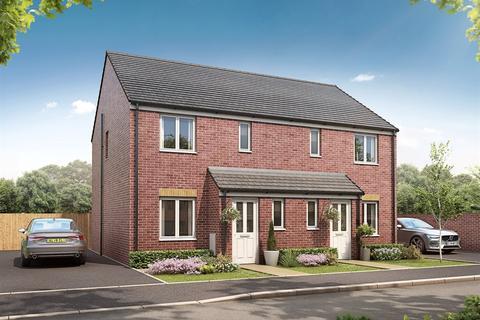 3 bedroom semi-detached house - Plot 219, The Hanbury at Milton Meadow, Bridgend Road, Bryncae, Llanharan CF72