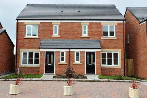 3 bedroom end of terrace house for sale - Plot 47, The Barton  at Merlins Lane, Off Scarrowscant Lane SA61