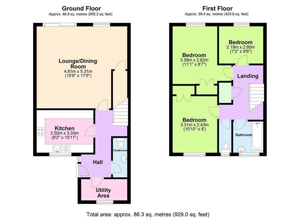 Floorplan: 6 Forth Noweth, Redruth.JPG