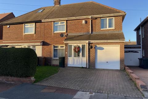 3 bedroom semi-detached house for sale - Monkhouse Avenue, North Shields, NE30 3QU