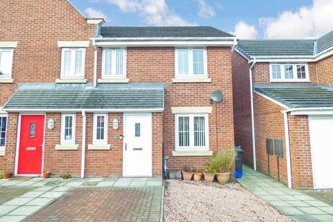 3 bedroom terraced house to rent - Arkless Grove, The Grove, Consett, Durham, DH8 8AB