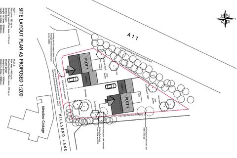 Land for sale - Plots at Hillsend Lane, Attleborough