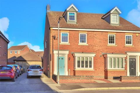 3 bedroom semi-detached house for sale - Hornscroft Park, Kingswood, Hull, East Yorkshire, HU7