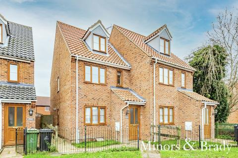 3 bedroom townhouse for sale - South Green, Dereham