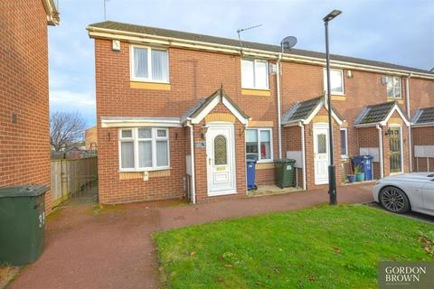 2 bedroom end of terrace house for sale - Shawdon Close, Newcastle Upon Tyne