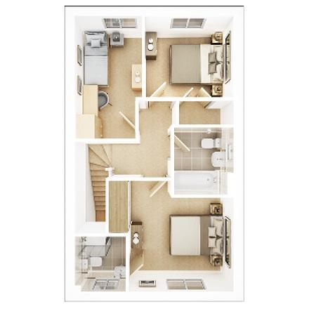 Floorplan 2 of 2: Byford First Floor