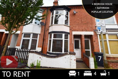 4 bedroom terraced house to rent - Barclay Street, Leicester, LE3