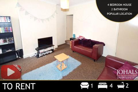 4 bedroom terraced house to rent - Paton Street, Leicester, Leicestershire, LE3