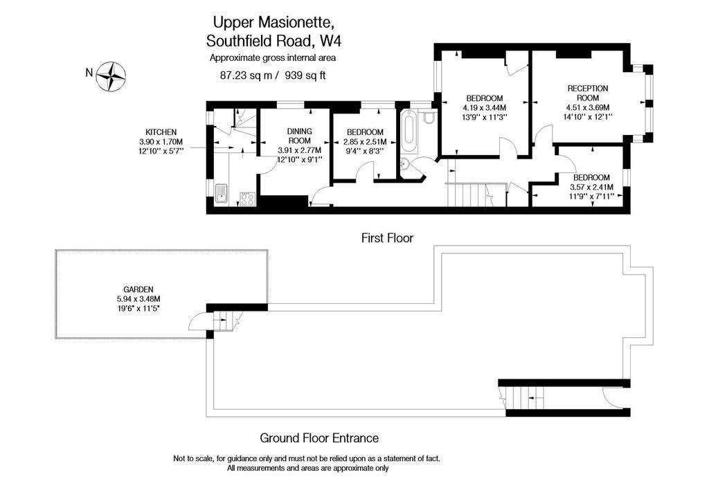 Floorplan: Southfield Road W4