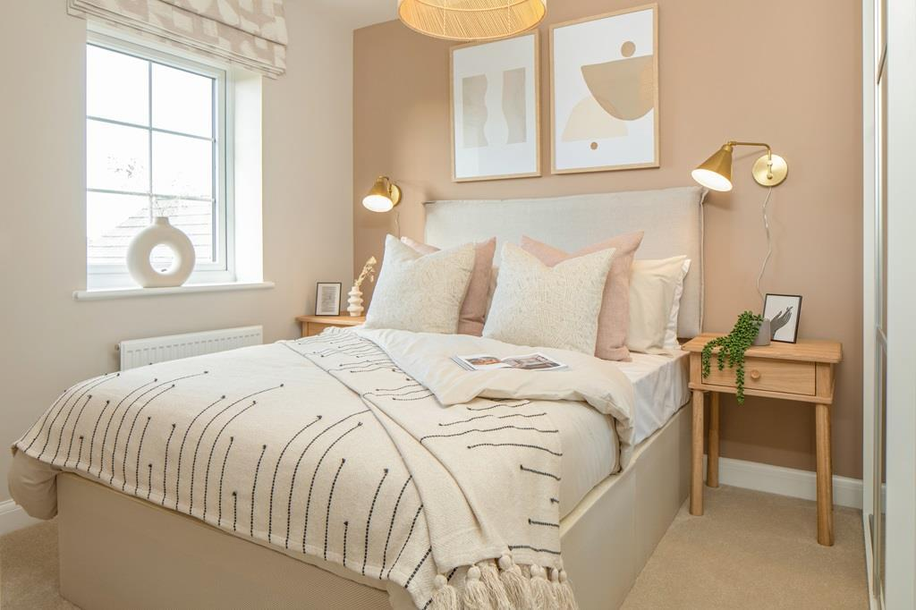 Inside view of bedroom 2 in the Maidstone.