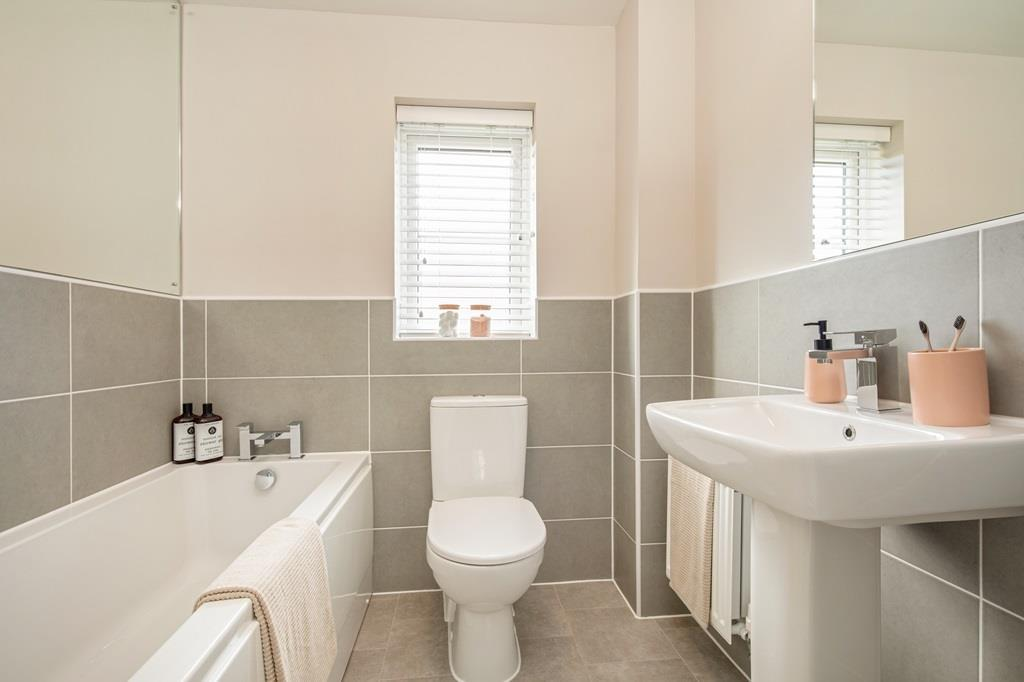 Inside view of the family bathroom in the Maidstone.