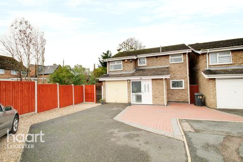 3 bedroom detached house for sale - Davett Close, Leicester