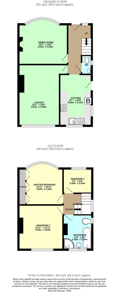 Floorplan: Render Plan