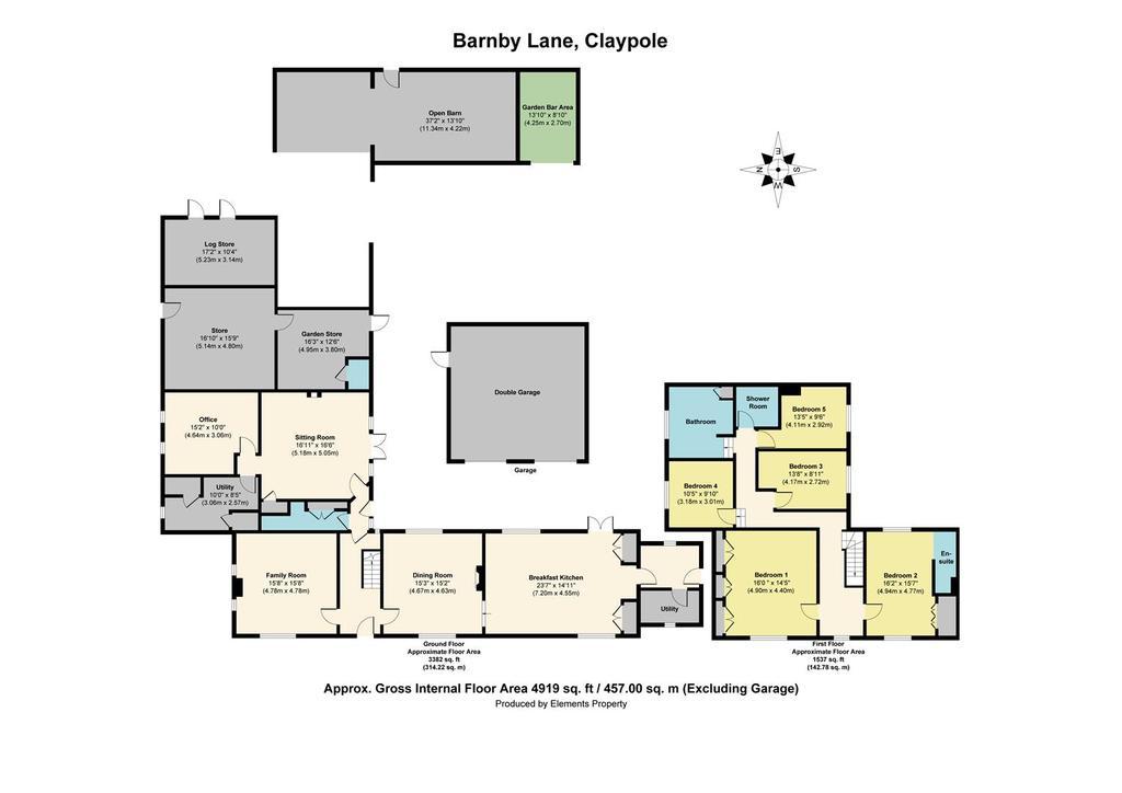 Floorplan: Clematis House, Claypole.jpg