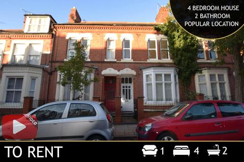 4 bedroom terraced house to rent - St. Albans Road, Leicester, LE2
