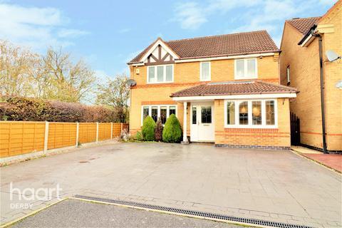 4 bedroom detached house for sale - Bowbank Close, Littleover