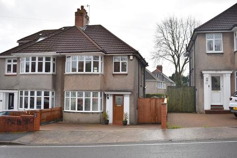 3 bedroom semi-detached house for sale - Harlech Crescent, Sketty, Swansea, City And County of Swansea. SA2 9LN